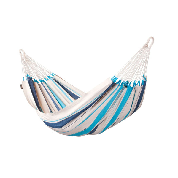 Single Classic Hammock Caribeña Aqua Blue