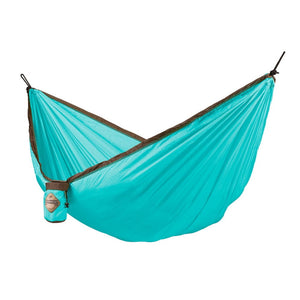 Single Travel Hammock Colibri Turquoise