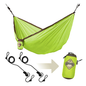 Single Travel Hammock Colibri Green