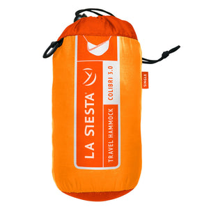 La Siesta Single Travel Hammock orange packaging