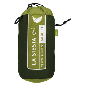 La Siesta Double Travel Hammock dark green packaging