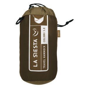 La Siesta Double Travel Hammock brown packaging