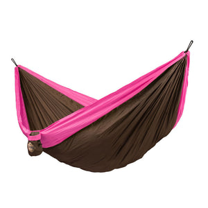 Double Travel Hammock Colibri Fuchsia