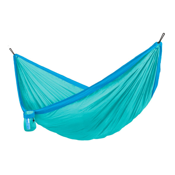 Single Travel Hammock Colibri 3.0 Caribic light blue