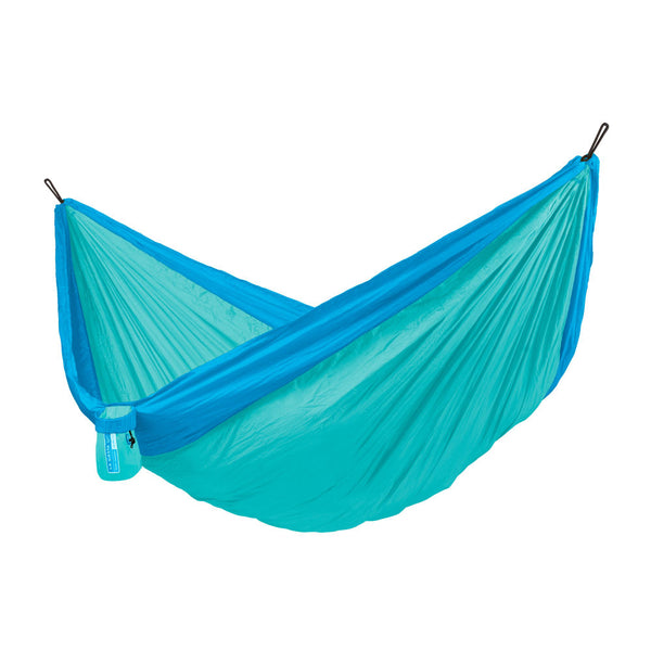 Double Travel Hammock Colibri 3.0 Caribic light blue