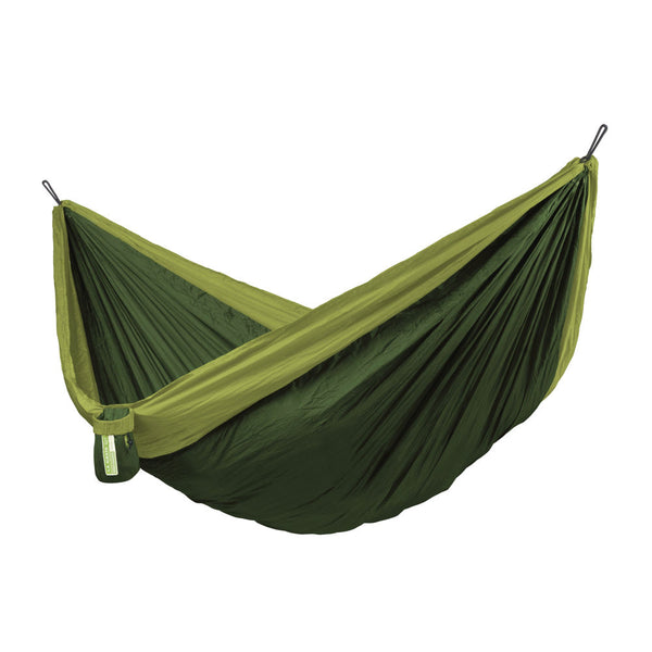 Double Travel Hammock Colibri 3.0 Forest dark green