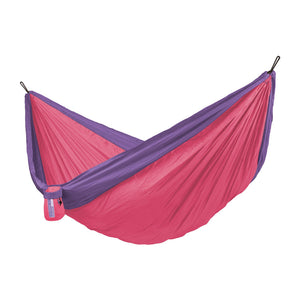 Double Travel Hammock Colibri 3.0 Passionflower pink
