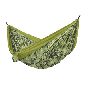 Double Travel Hammock Colibri 3.0 Camo Forest green