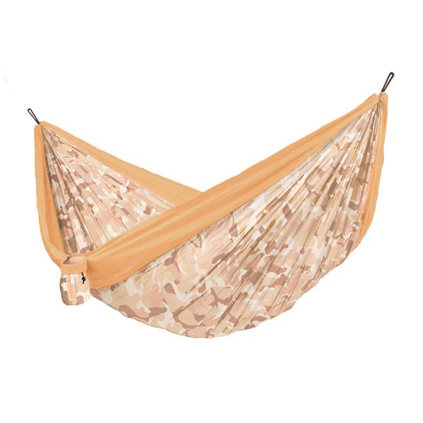 Double Travel Hammock Colibri 3.0 Camo Sahara Orange