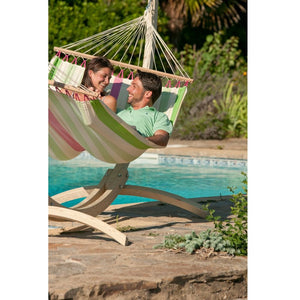 Double Spreader Bar Hammock Colada Kiwi
