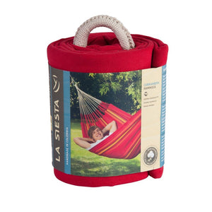 La Siesta Double Hammock red packaging