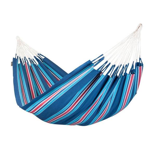 Double Hammock Currambera Blueberry Blue and Red
