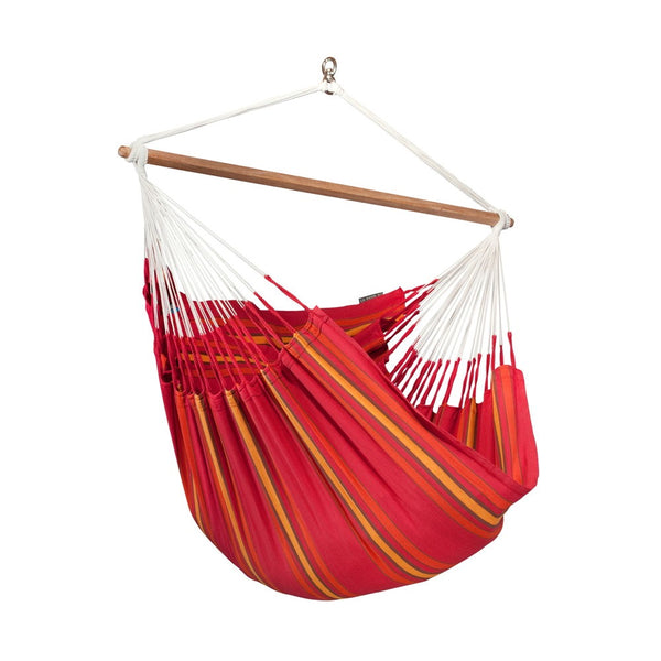 Lounger Hammock Chair Currambera Cherry Red