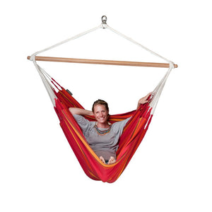 La Siesta Lounger Hammock Chair red