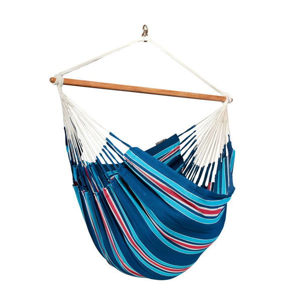 Lounger Hammock Chair Currambera Blueberry Blue and Red