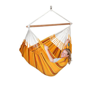 La Siesta Lounger Hammock Chair orange