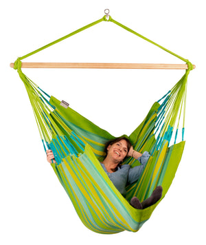 Kingsize Hammock Chair Domingo Lime