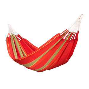 Kingsize Classic Hammock Flora Chilli red