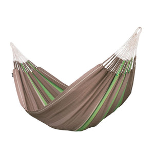 Kingsize Classic Hammock Flora Chocolate brown
