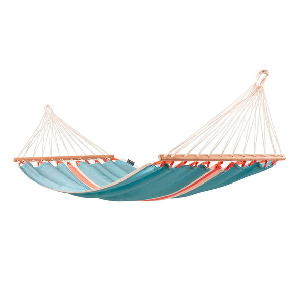 Single Spreader Bar Hammock Fruta Curaçao light blue