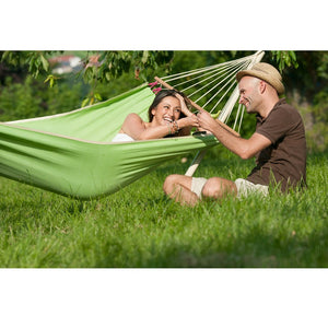 La Siesta Single Spreader Bar Hammock green