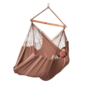 La Siesta Lounger Hammock Chair brown