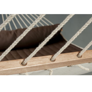 La Siesta Kingsize Spreader Bar Hammock brown detail