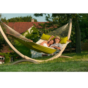 La Siesta Kingsize Spreader Bar Hammock green