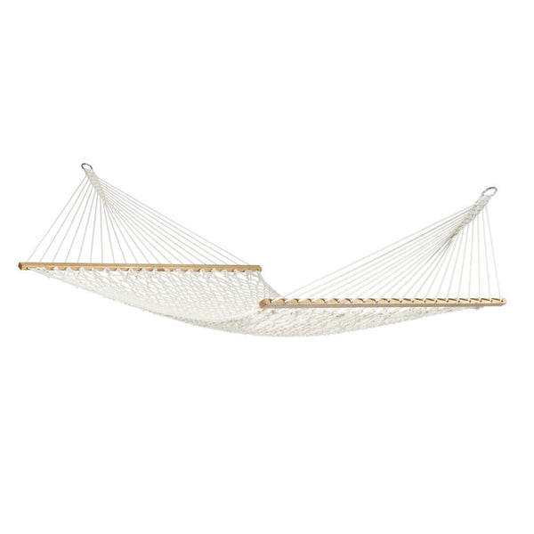 Kingsize Spreader Bar Hammock Virginia Écru