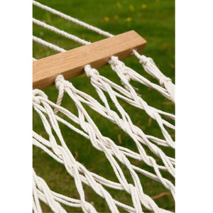 La Siesta Kingsize Spreader Bar Hammock ecrú detail
