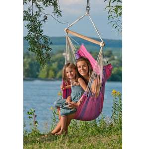 La Siesta Hammock Chair Purple