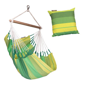 Hammock Chair green with green cushion