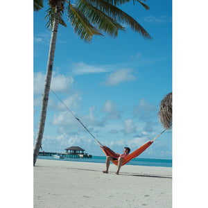 La Siesta Single Classic Hammock orange