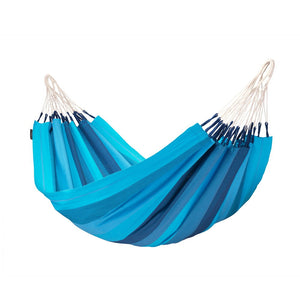 Single Classic Hammock Orquídea Lagoon Blue