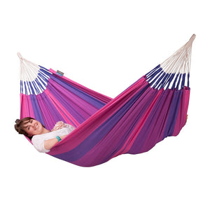 La Siesta Single Classic Hammock Purple