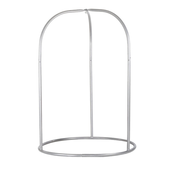 Romano Stand for Hammock Chair Silver powder coated steel