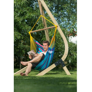 La Siesta Hammock Chair blue and purple