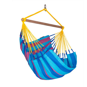 Hammock Chair Sonrisa Prune Blue and Purple