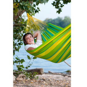 La Siesta Single Classic Hammock green