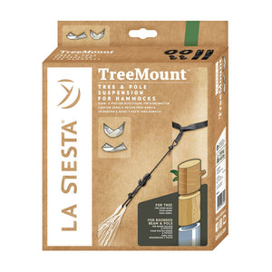 La Siesta tree multipurpose suspension for hammock packaging