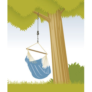 La Siesta tree suspension for hammock chair and hanging nest