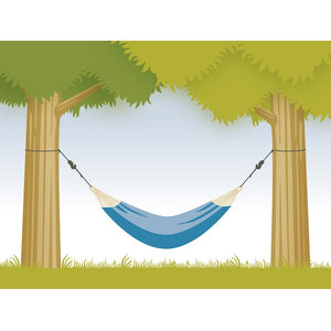 La Siesta tree suspension for hammock