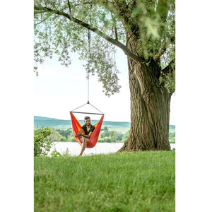 La Siesta Single Travel Hammock Chair orange