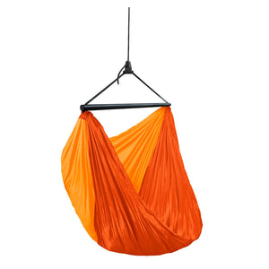 Single Travel Hammock Chair ZunZun Sunrise Orange