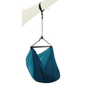 La Siesta Single Travel Hammock Chair blue