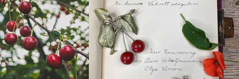Cherry and Fruit Charm