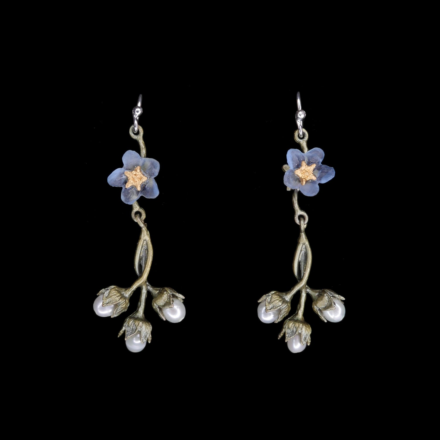 Forget Me Not Earrings - Wire