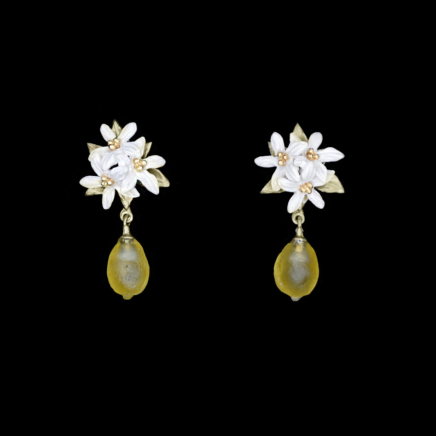 Lemon Drop Earrings - Post