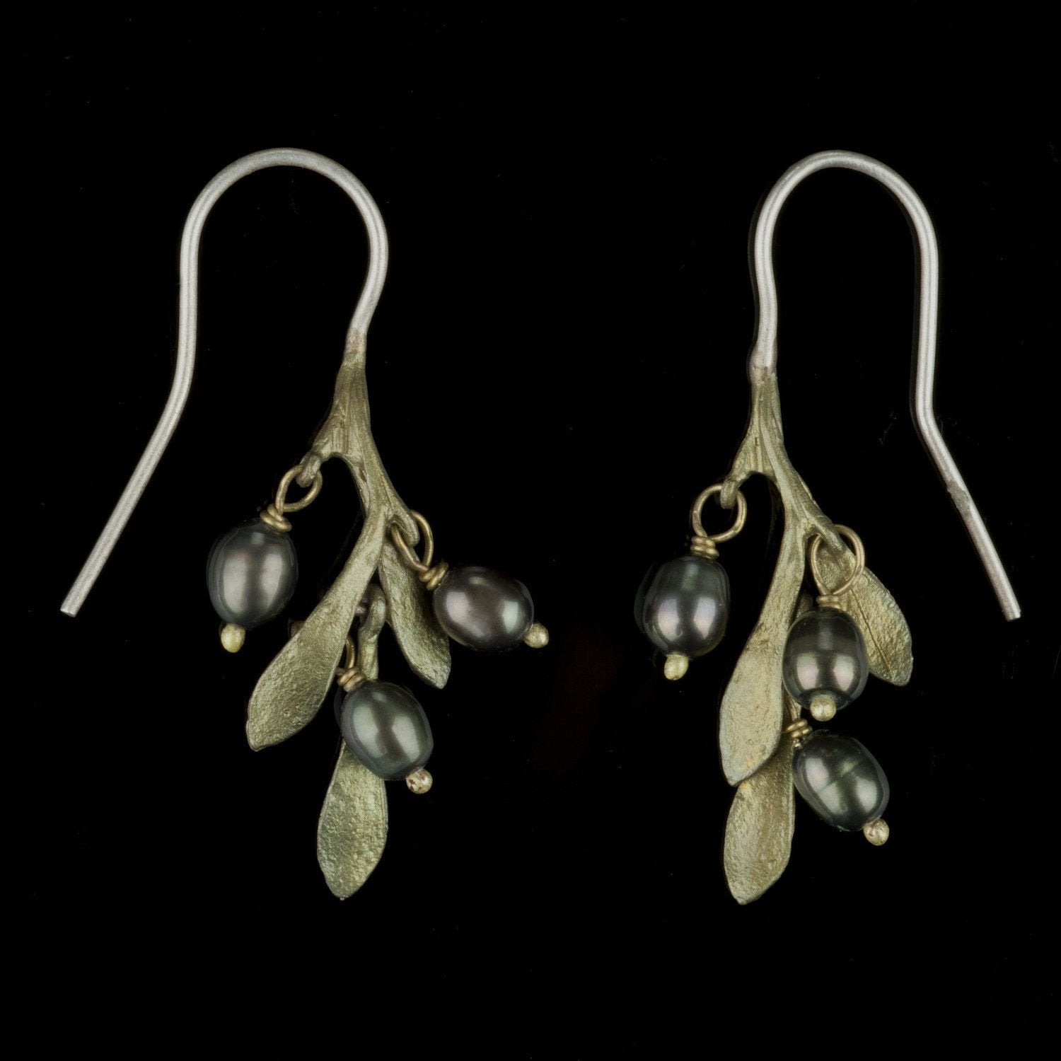 Olive Earrings - Delicate Wire Drop