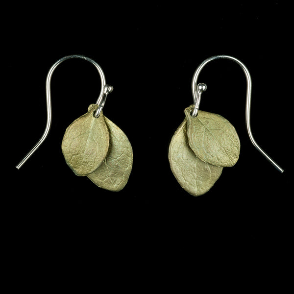 Irish Thorn Earrings - Double Leaf